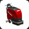 Factory Cat MicroMag industrial walk behind floor auto scrubber