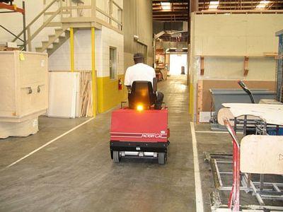 48 Industrial Rider Floor Sweeper